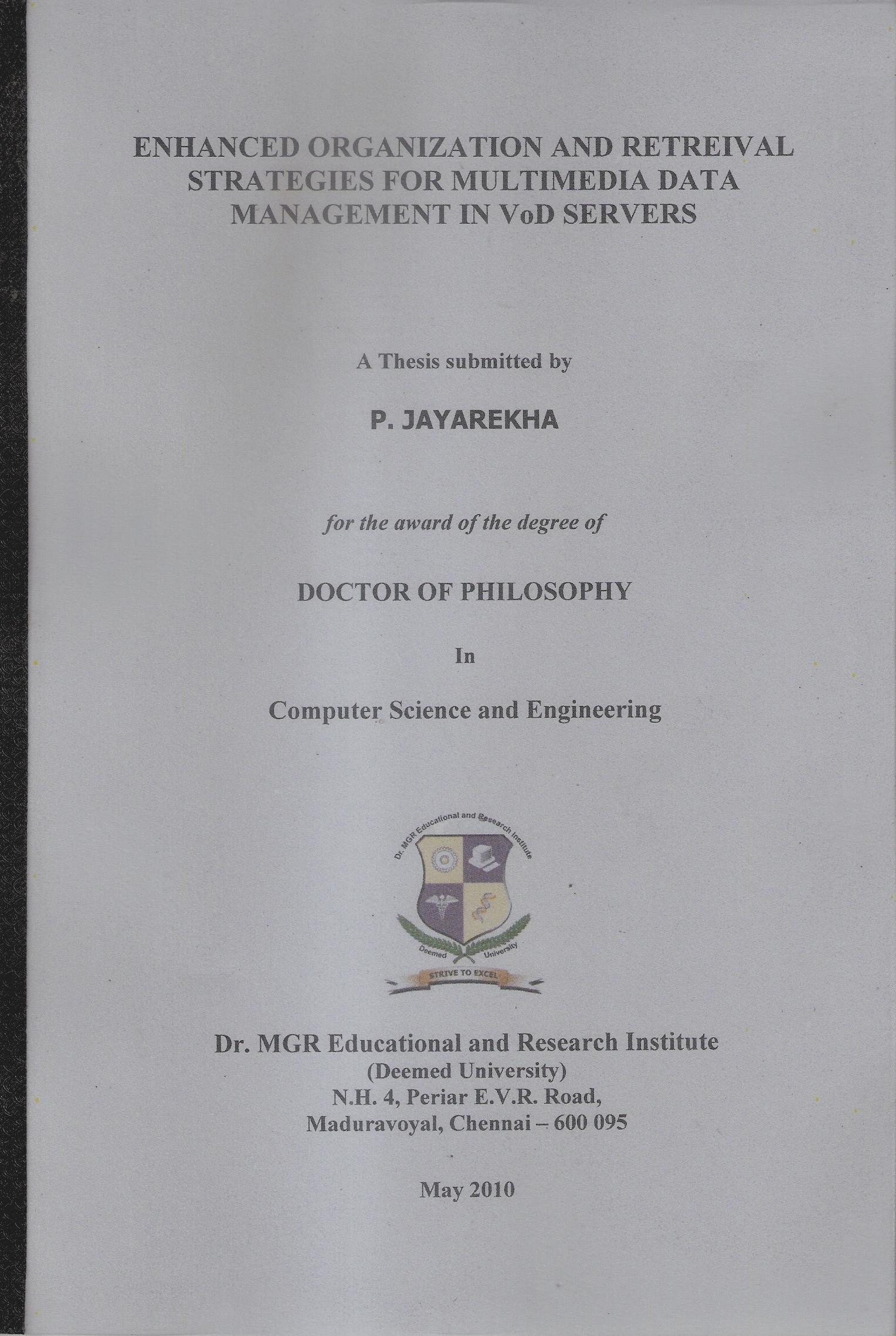 thesis server